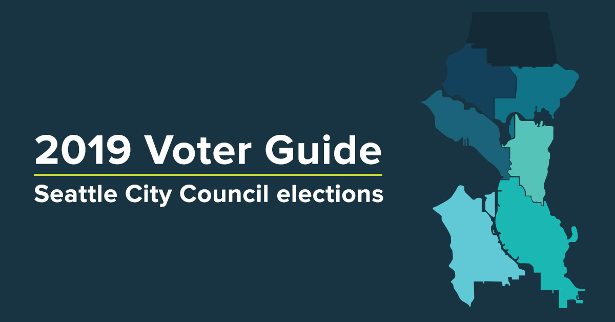 Seattle's crowded race for city council, mapped | Crosscut