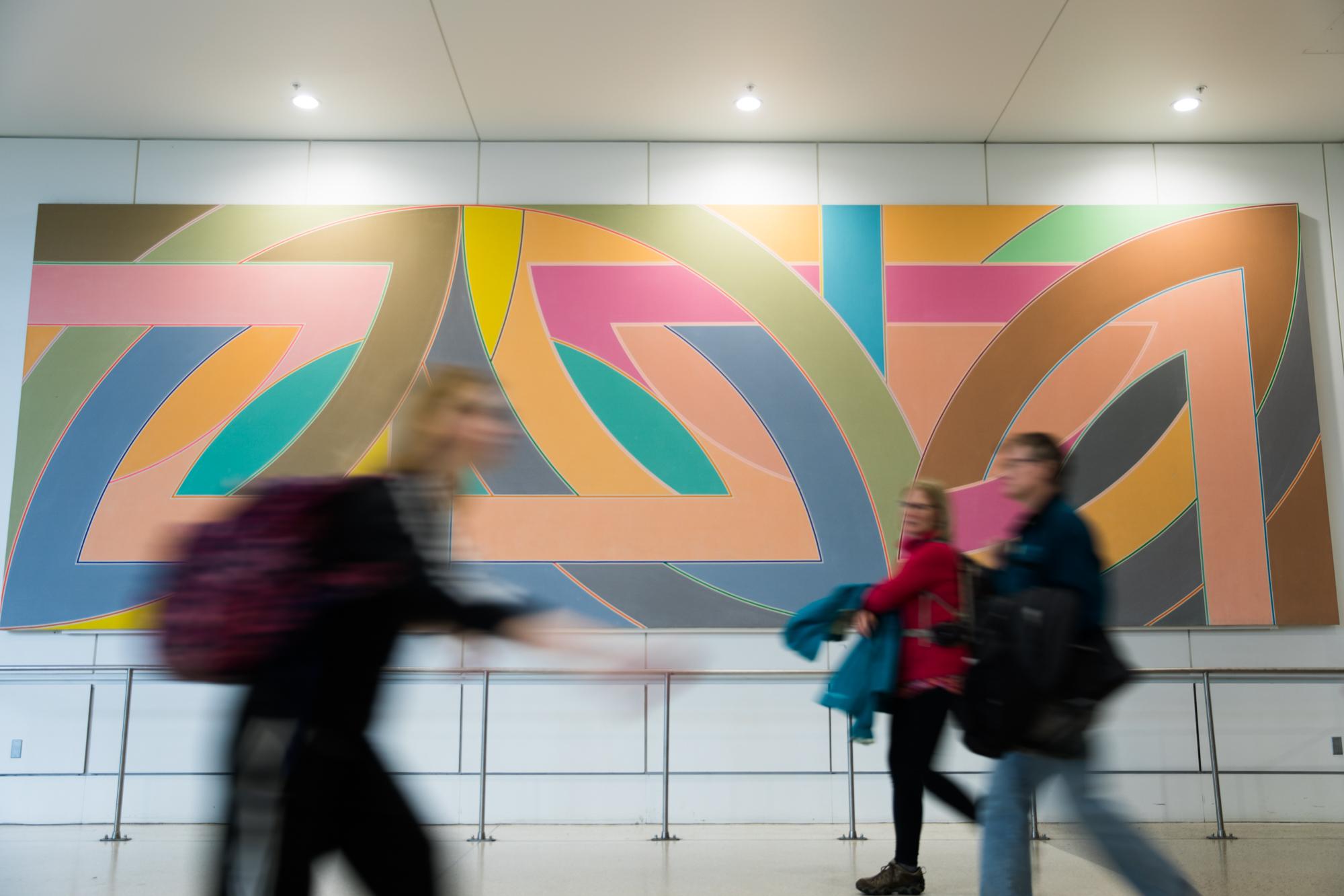 "Frank Stella's ""York Factory A"""