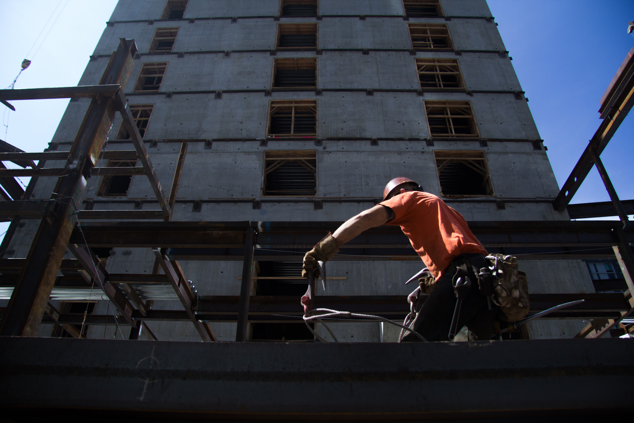 Seattle's booming, but construction workers fear a bust