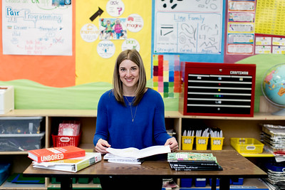 Camille Jones, Washington's 2017 Teacher of the Year, leads Pioneer Elementary's STEAM (Science, Technology, Engineering, Art, and Mathematics) and highly capable programs.