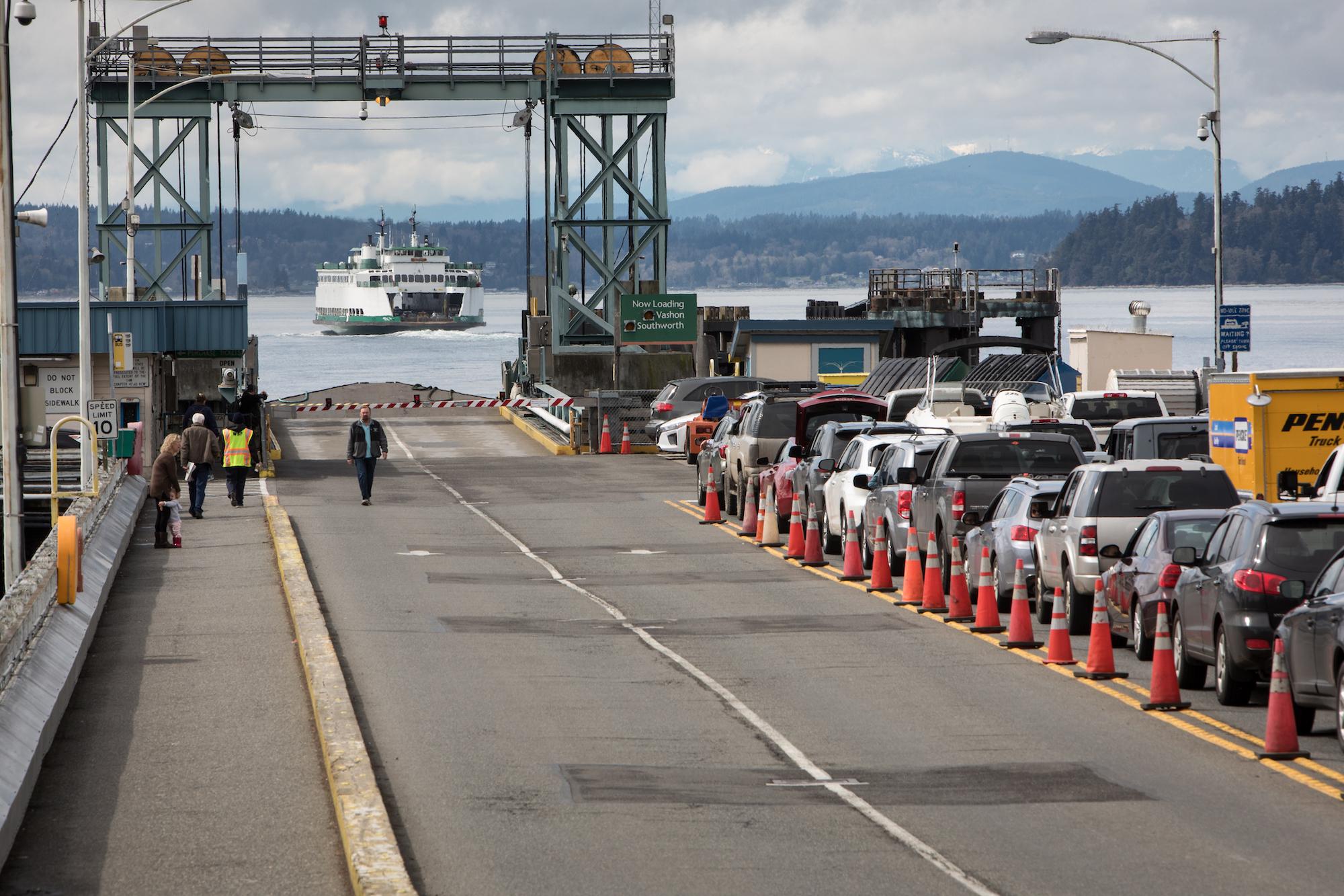 A ferry landing