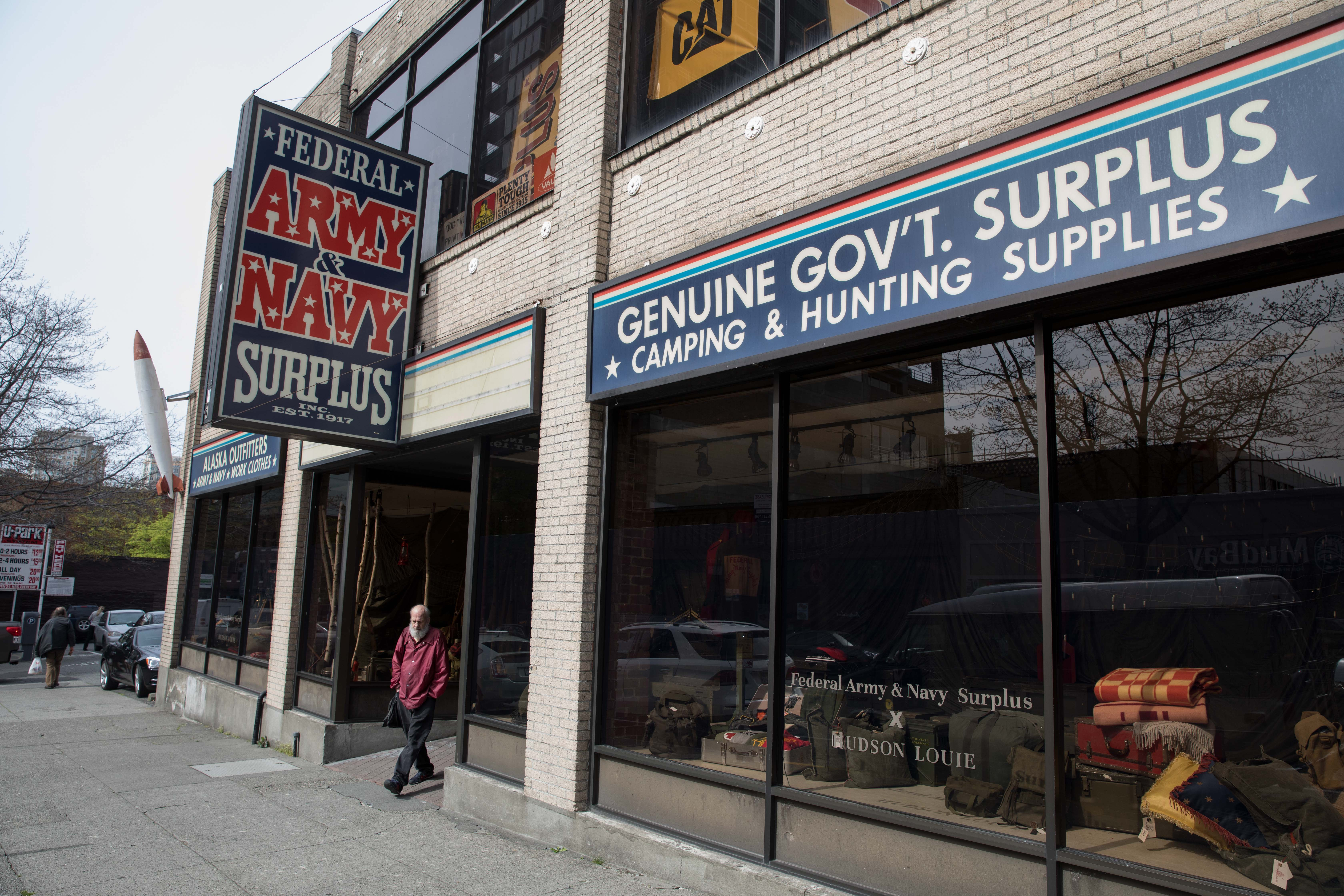 So Seattle: The military surplus store that's a mainstay in
