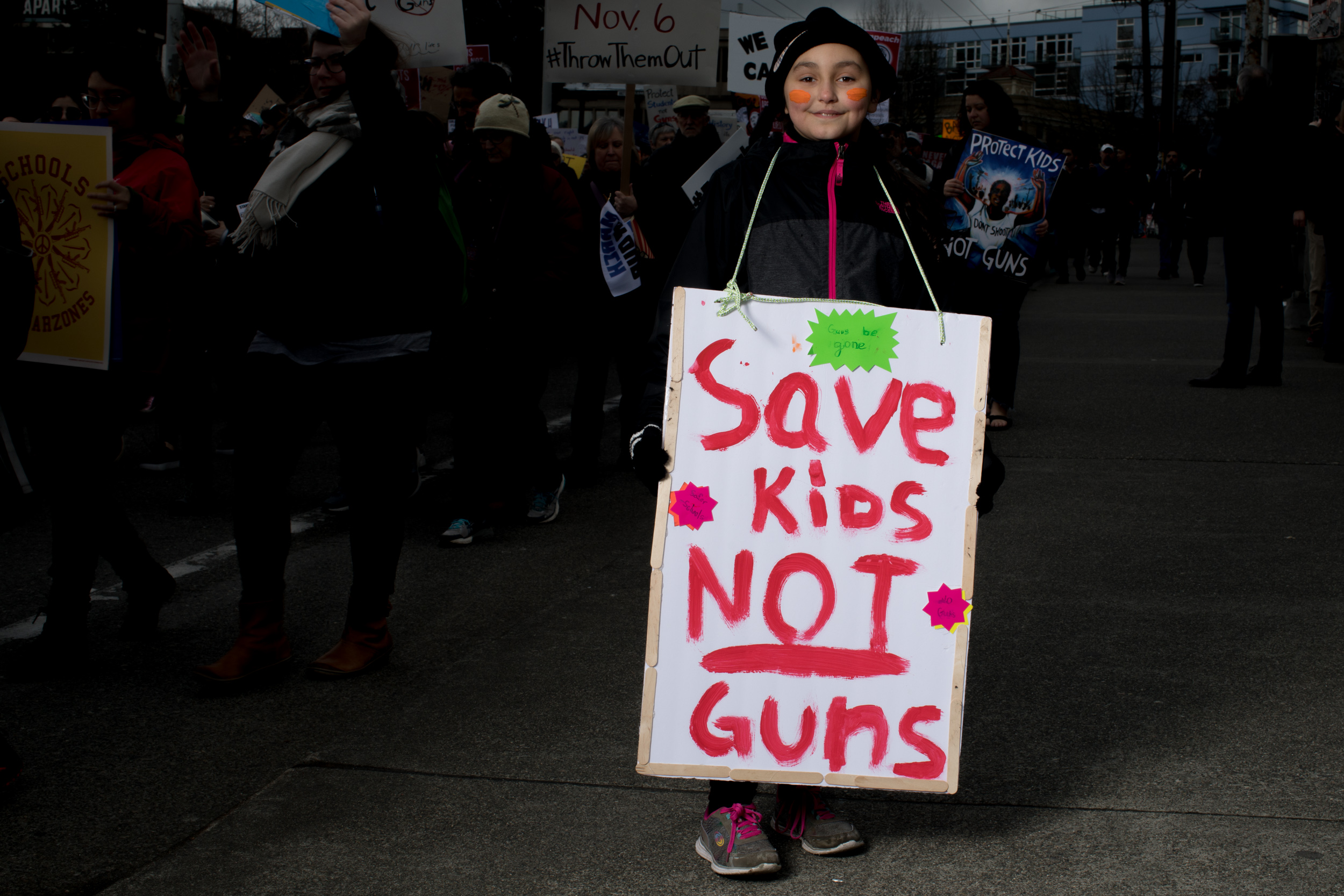 Leila Moore, 9, of Oak Harbor