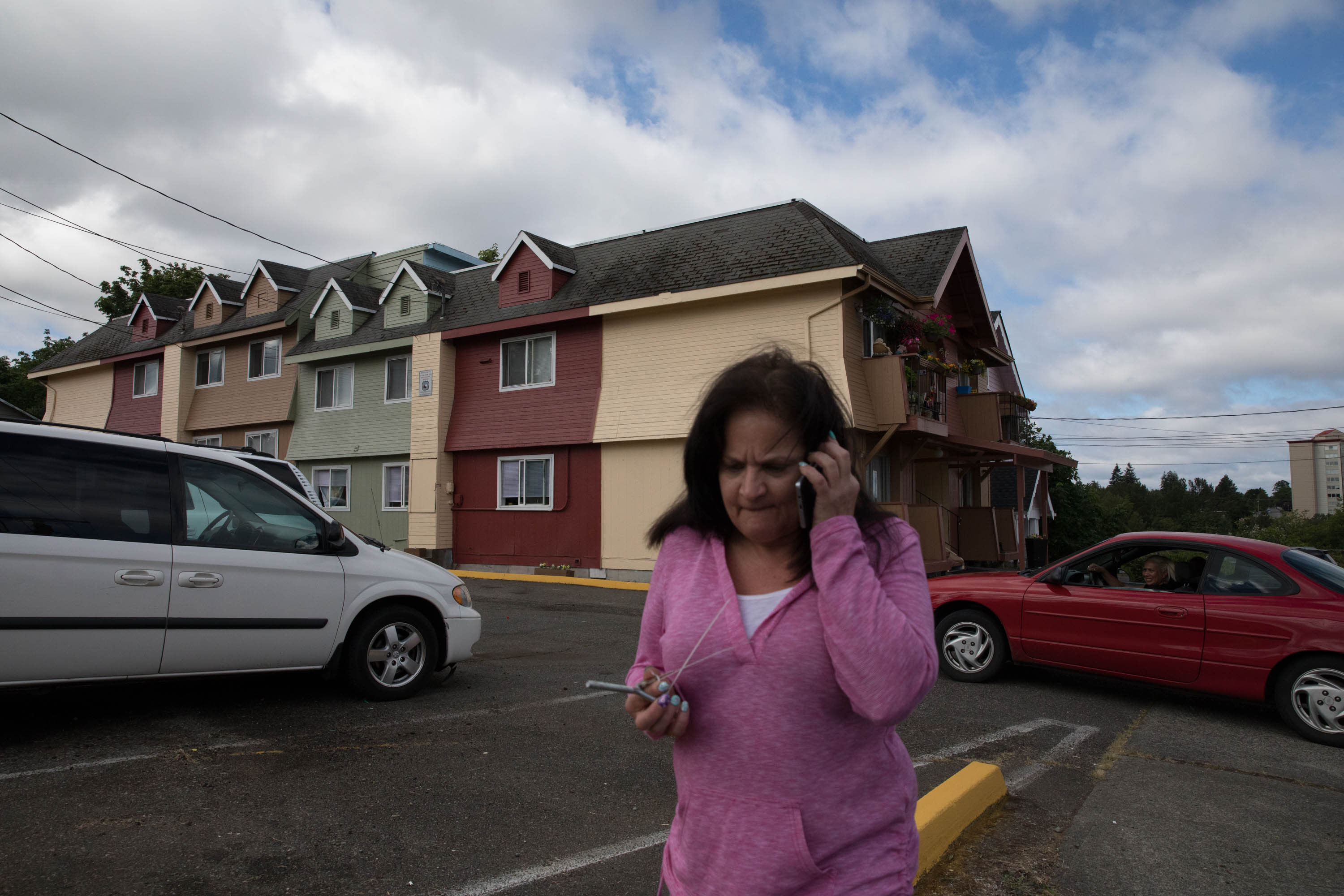 Tammi Lynn, a landlord, rents her apartments to those on the verge of homelessness. Credit: Matt M. McKnight/Cascade Public Media