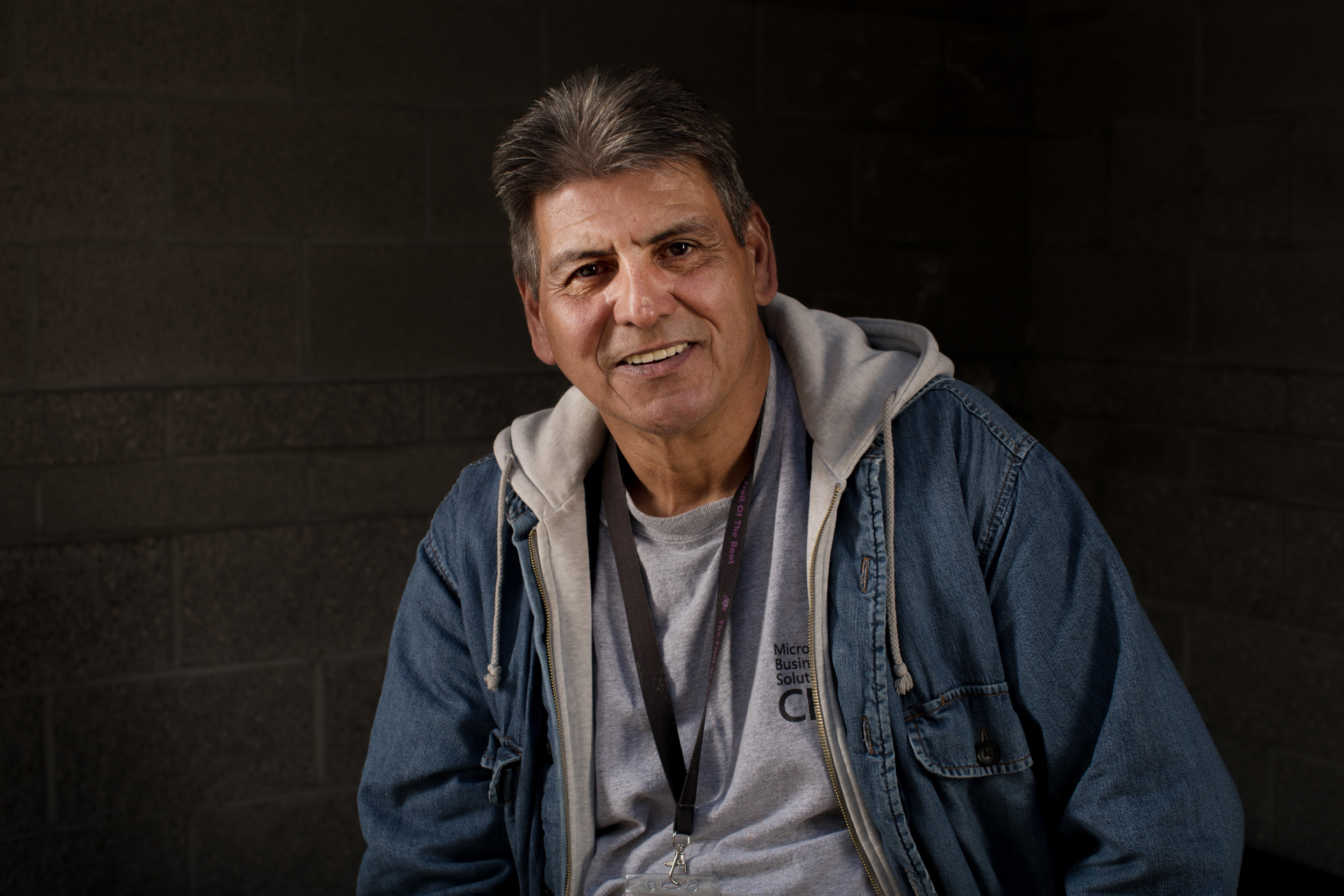 Carlos Espejel at Salvation Army William Booth Center in Seattle, May 24, 2018.