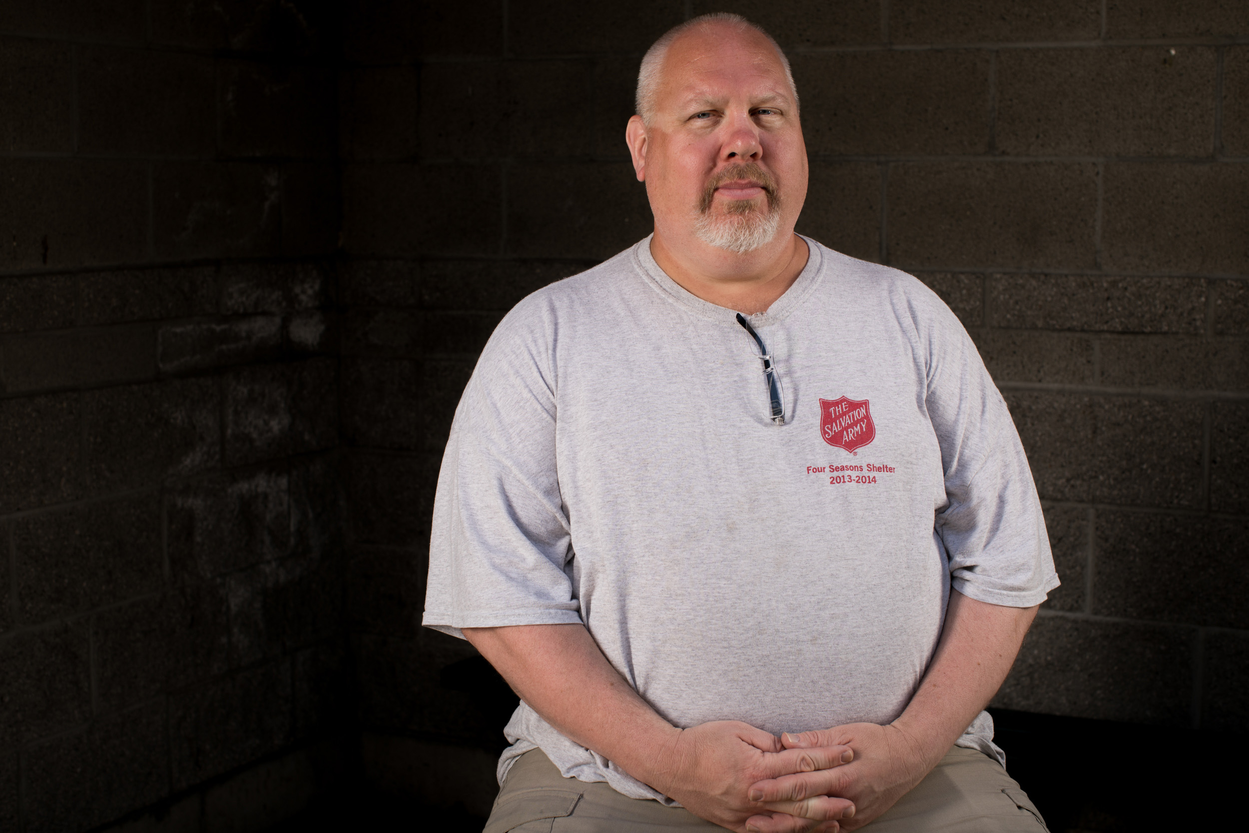Phil Sorenson at Salvation Army William Booth Center in Seattle, May 24, 2018.