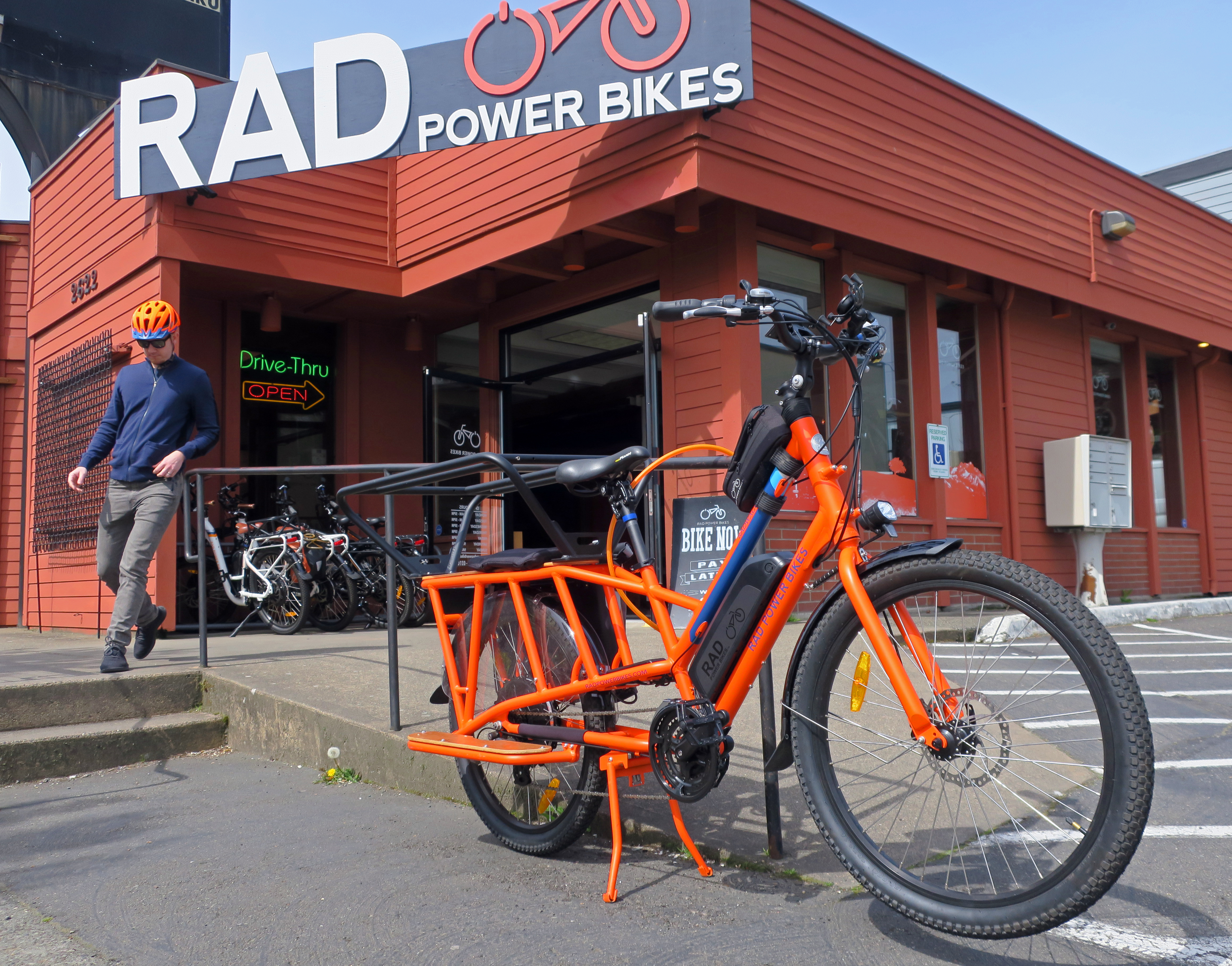 The Rad Power Bikes showroom in Ballard features the companies popular line of e-bikes.