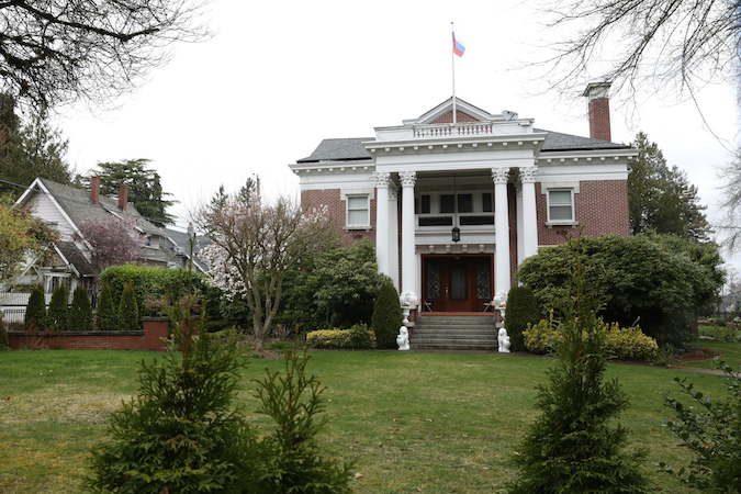 The Russian consul's residence