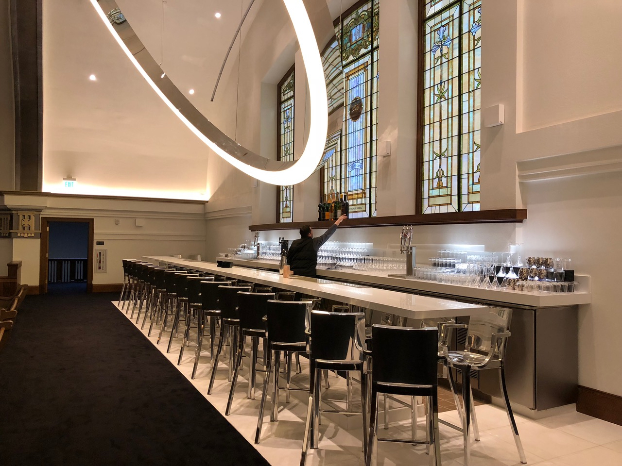 The Halo Bar in the Sanctuary
