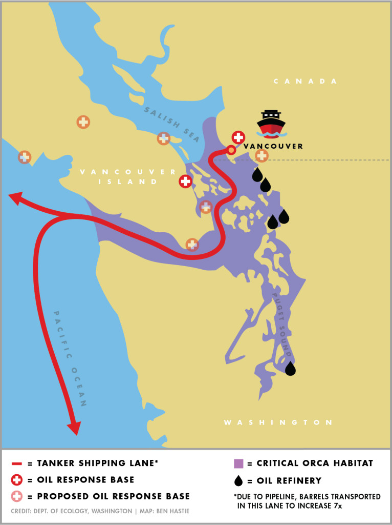 Are we ready for oil spills in the Salish Sea? | Crosscut