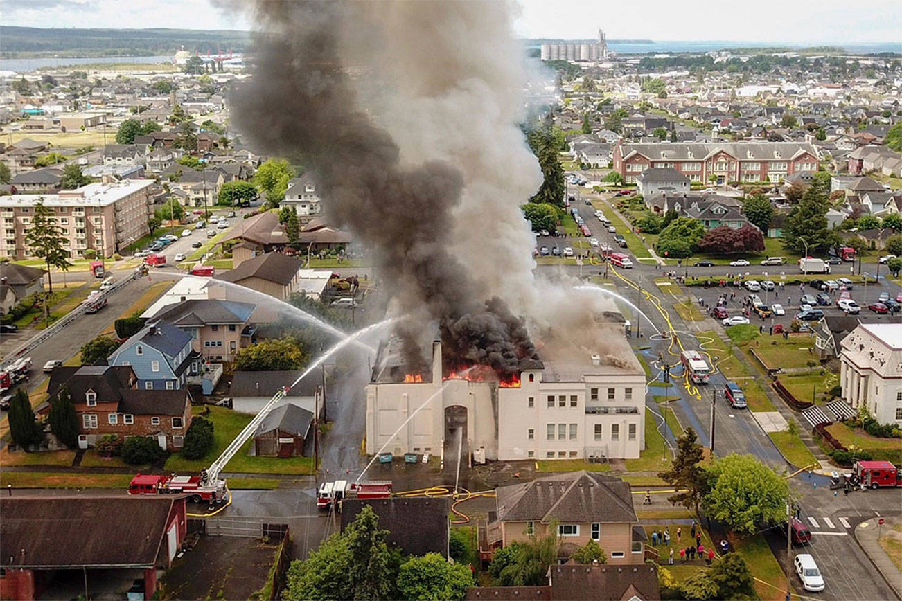 Aberdeen museum burning