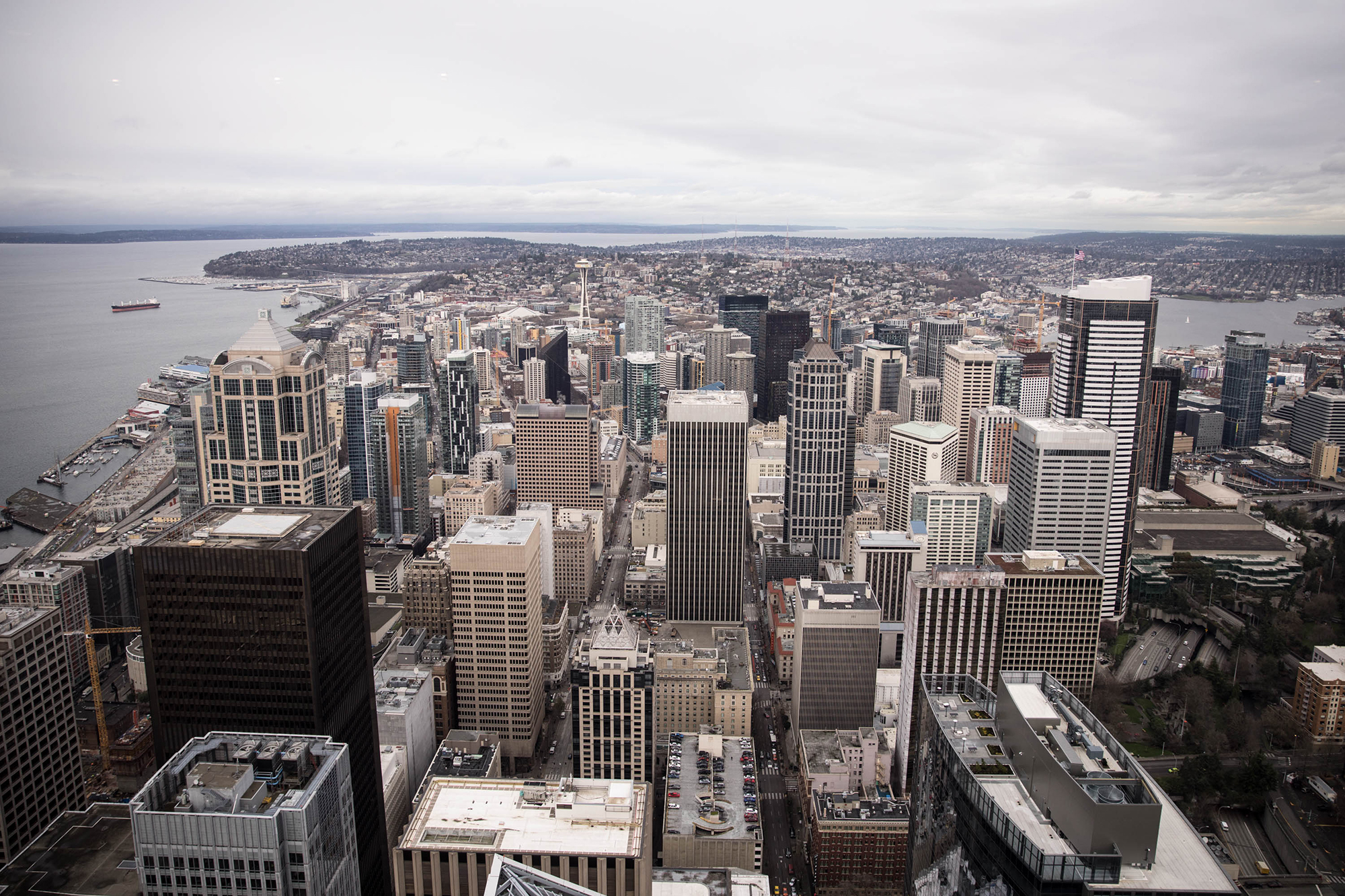 Downtown chaos may be the only constant in Seattle's changing core