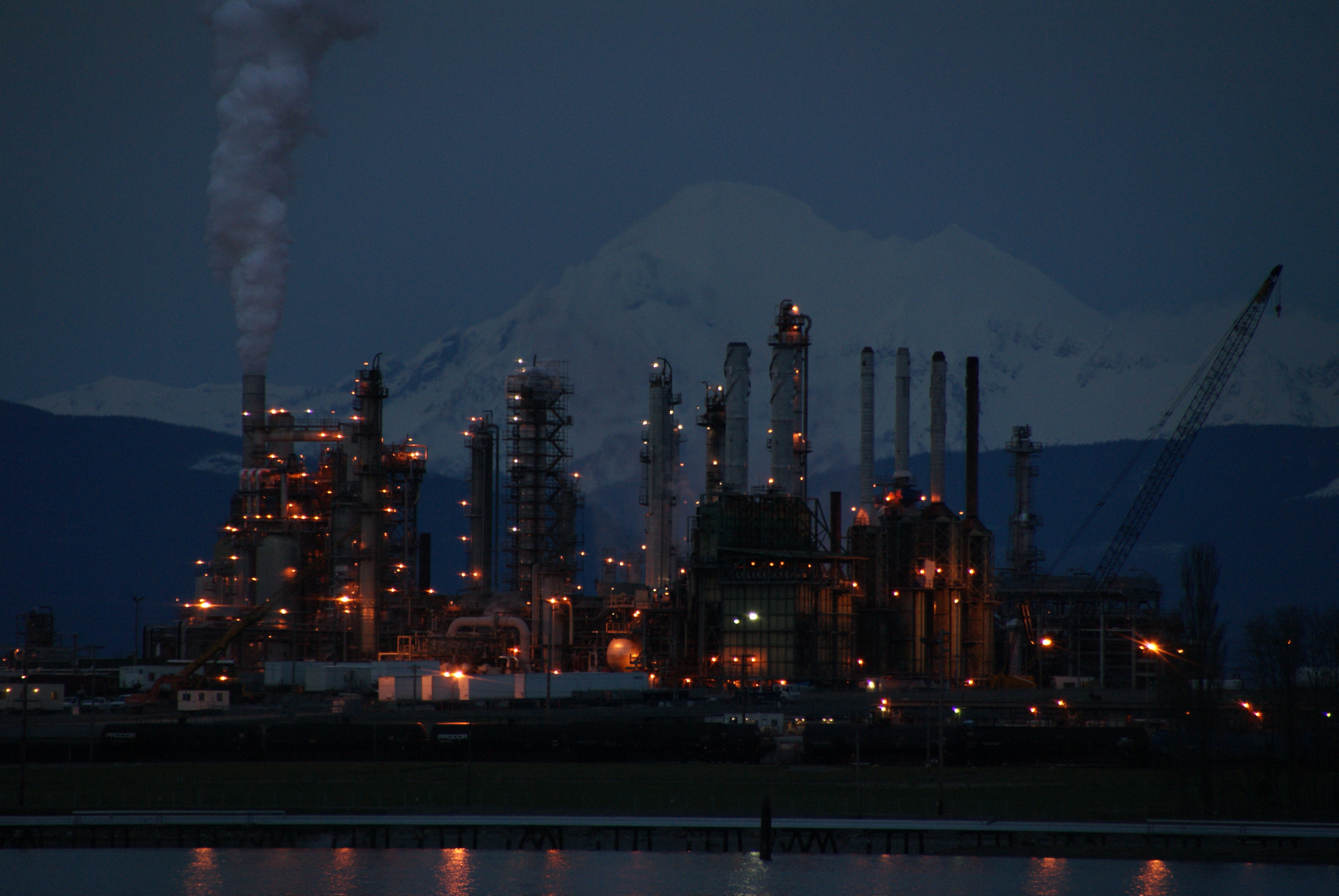 anacortes oil refinery