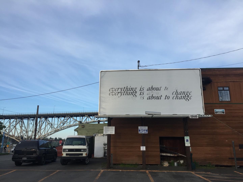 Five billboards in seattle washington crosscut billboard by portland artist alyson provax stopboris Images