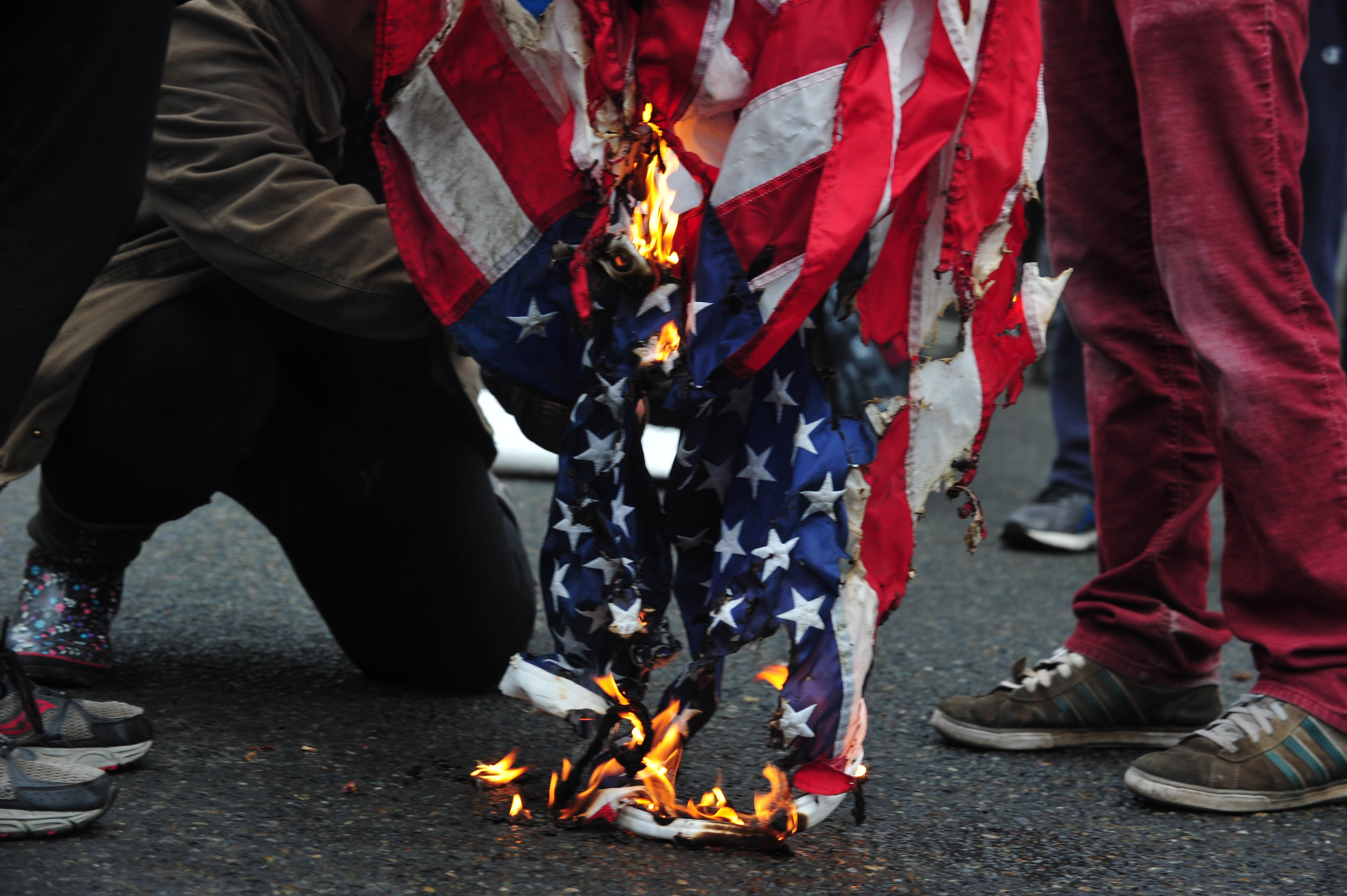Flag Burning Is Trump Resistance Going Too Far Crosscut