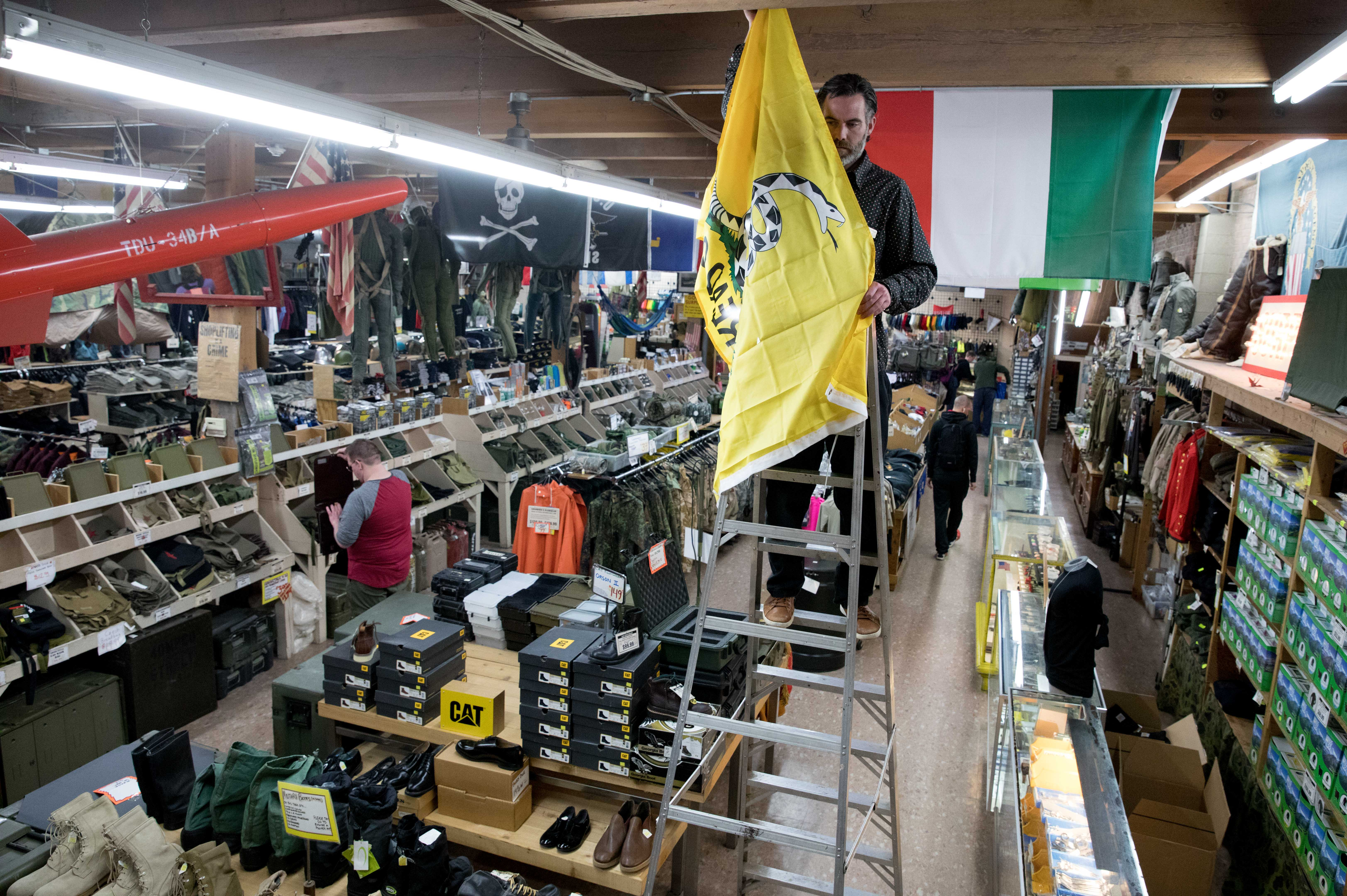 So Seattle: The military surplus store that's a mainstay ... - photo#32
