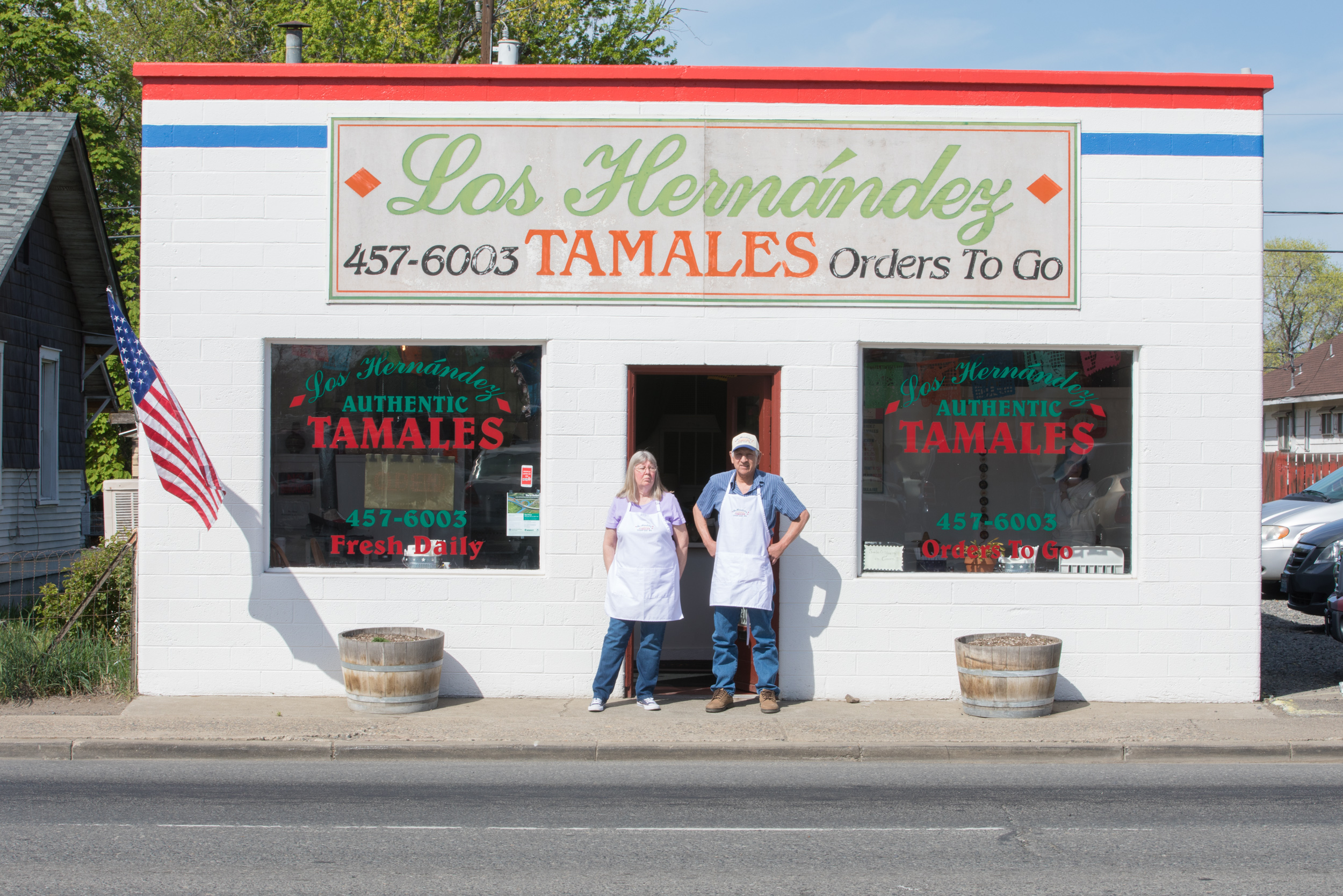 Los Hernández Tamales in Union Gap, Washington.