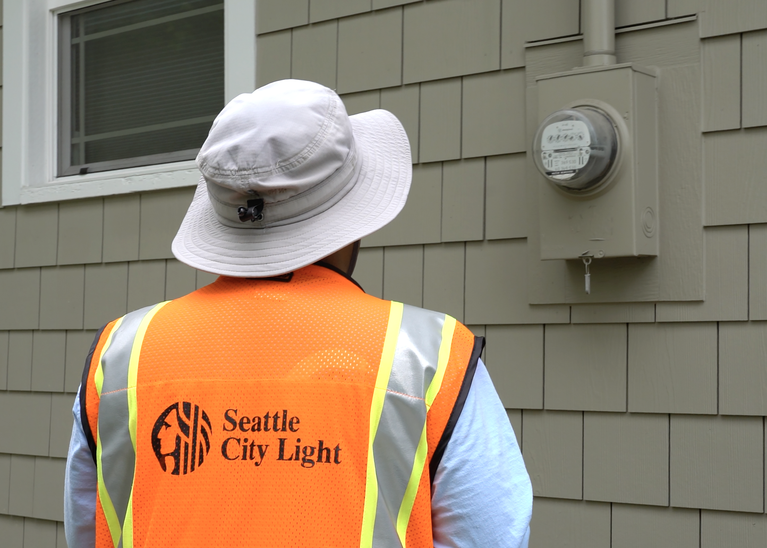 Meter Reader 1[2]. A Seattle City Light Employee Reads A Traditional ...