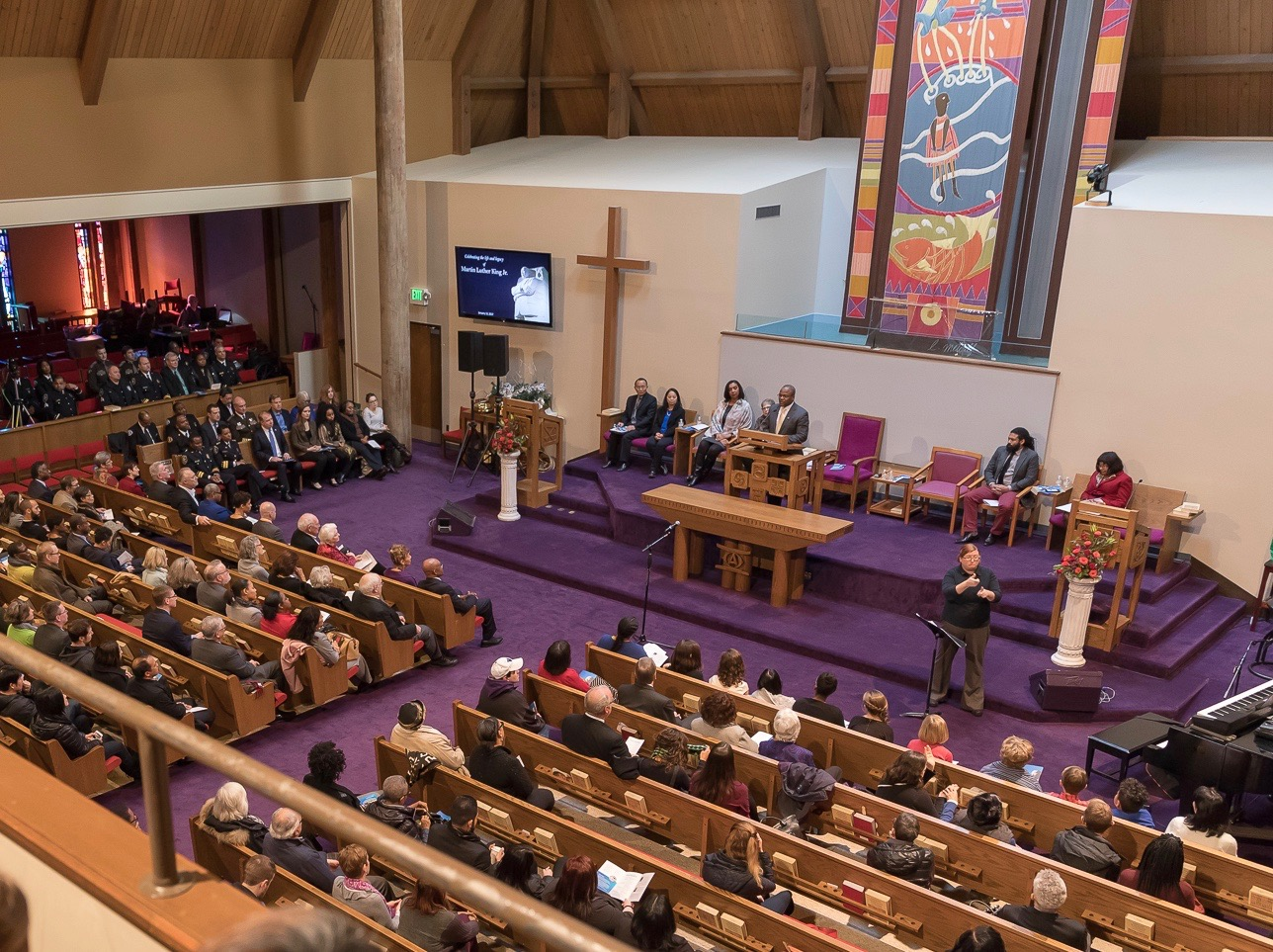 Seattle Colleges' Martin Luther King Jr. celebration at Mount Zion Baptist Church in Seattle, WA