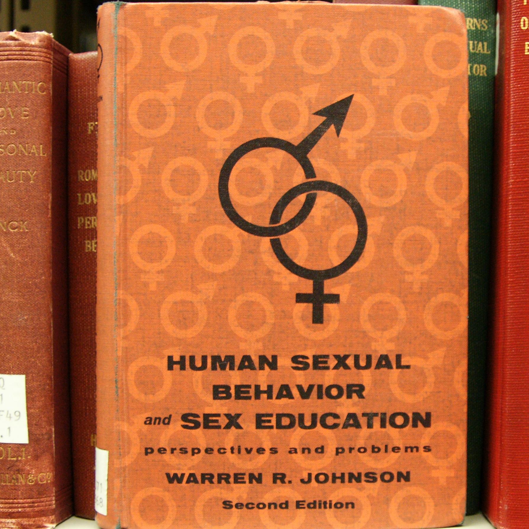 Kinsey human sexuality books