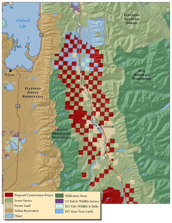Swan Valley Montana Map.Conservation Groups Buy Pieces Of Montana A Lot Of Pieces Crosscut