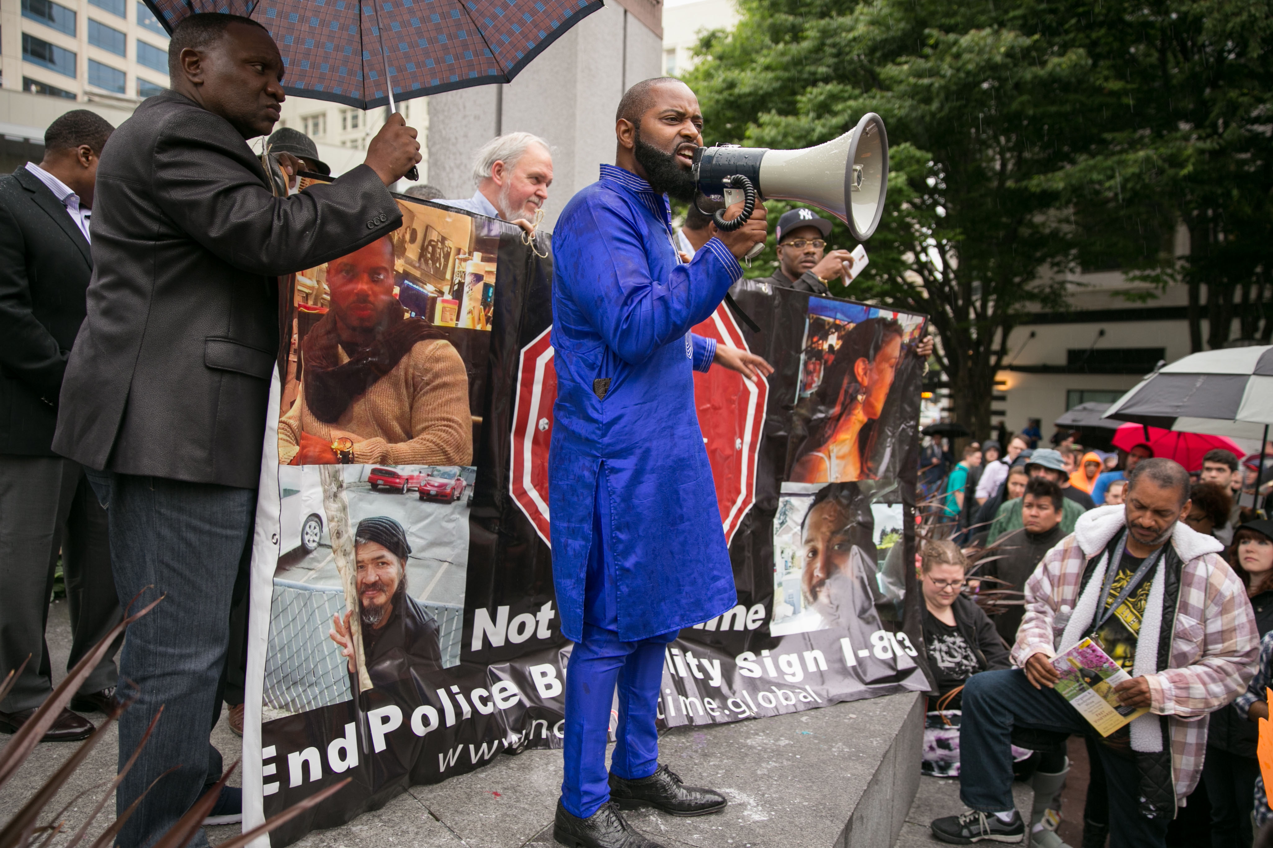Police killed his brother. Andre Taylor wants to change ...