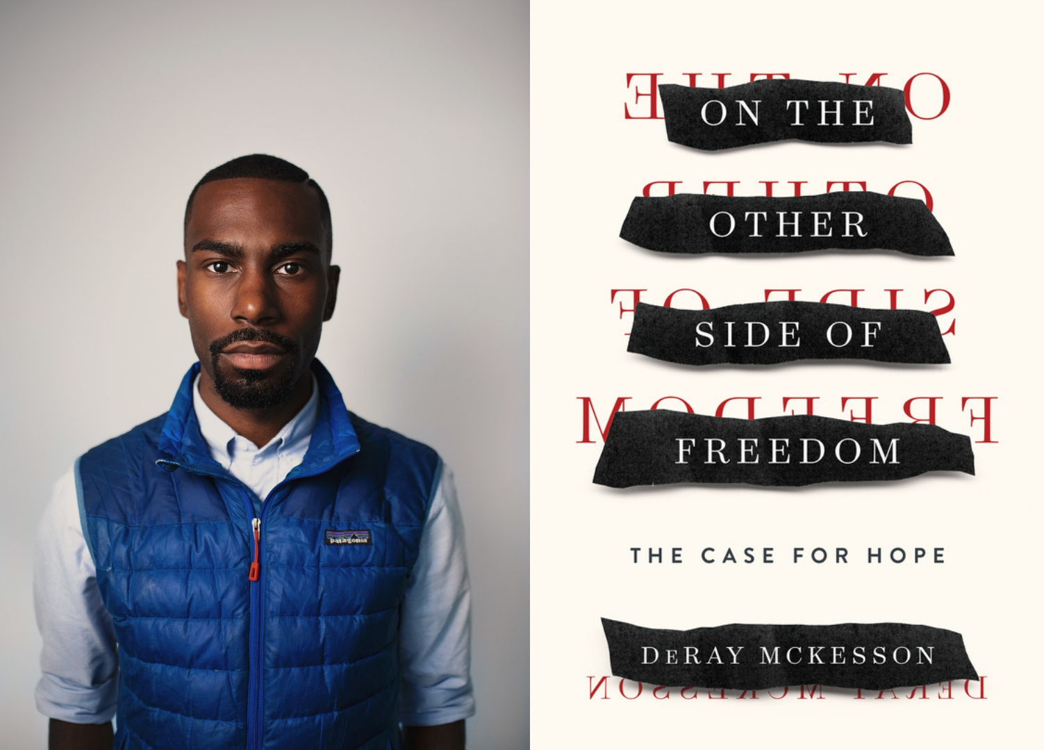 "Black Lives Matter leader DeRay McKesson and his new book, ""On the Other Side of Freedom: The Case for Hope."""