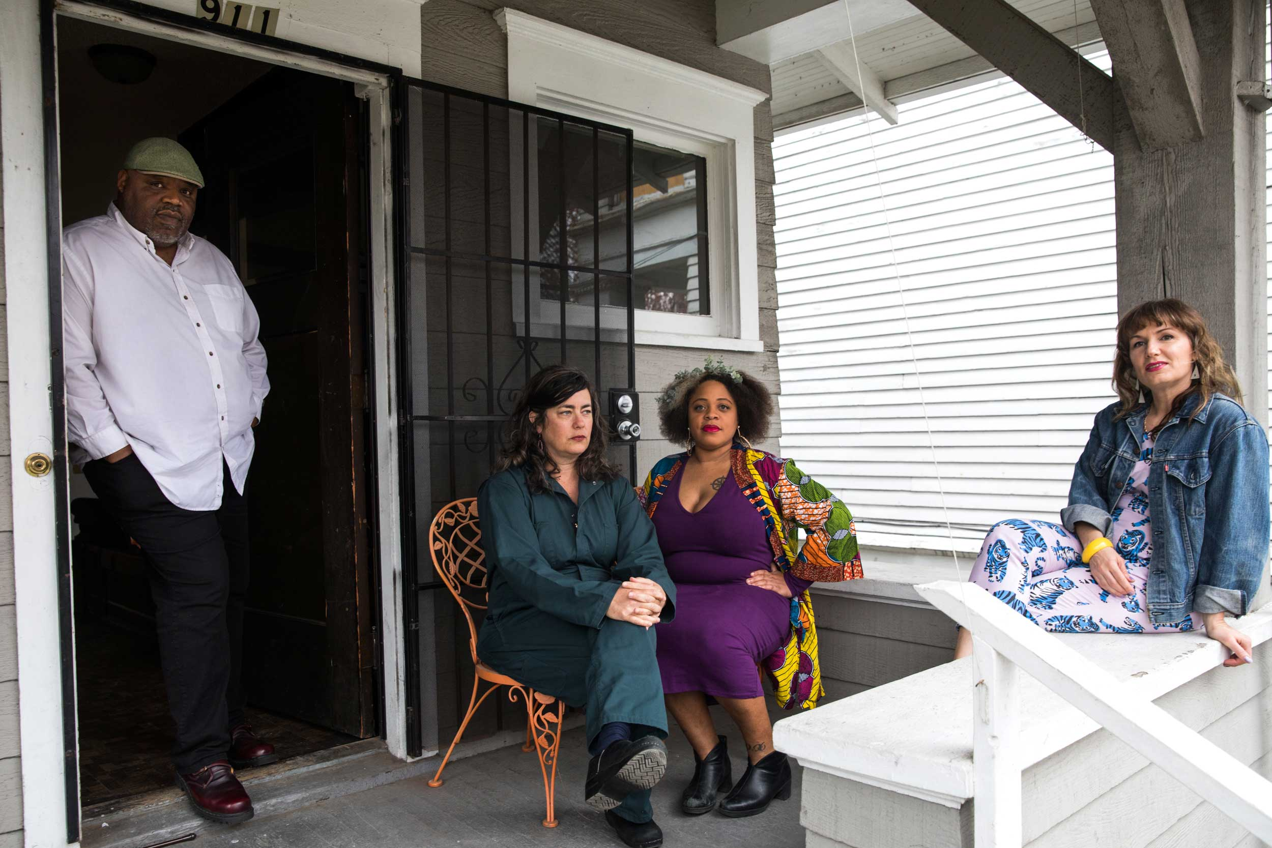 Turning a Central District house into a home for Black artists