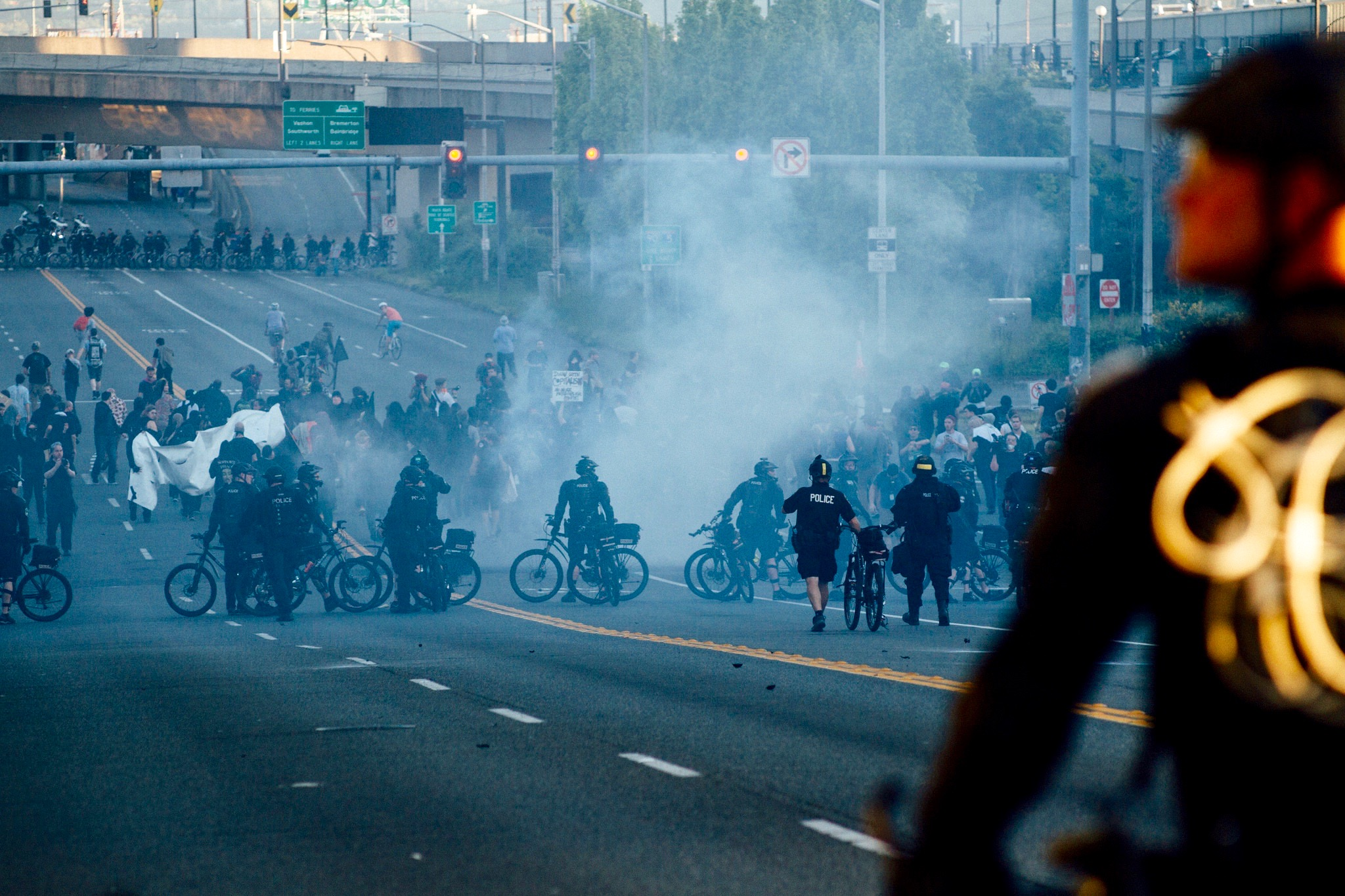 police tear gas protest (1)