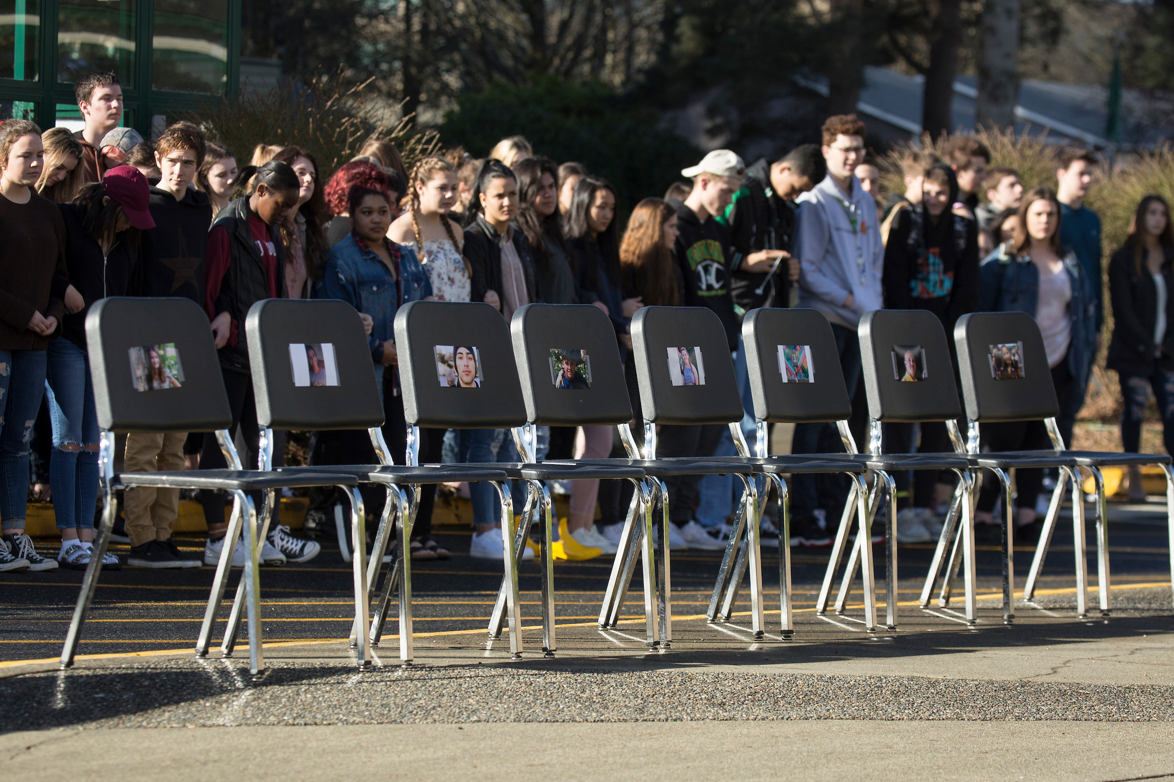 From Tumwater to Seattle, students unite in gun walkout