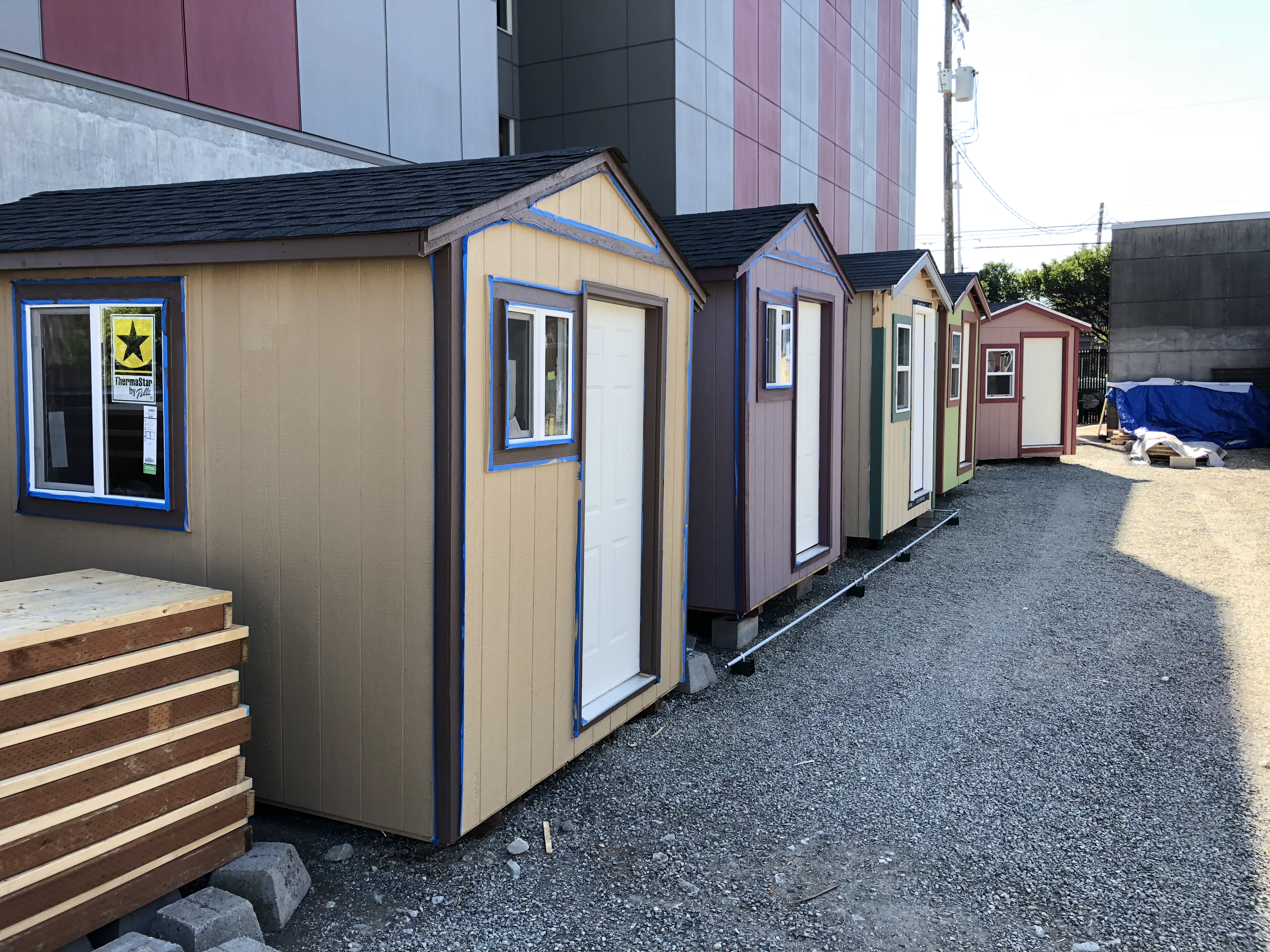 Photos Tiny House Seattle Wa: Seattle's New Tiny House Village For The Homeless