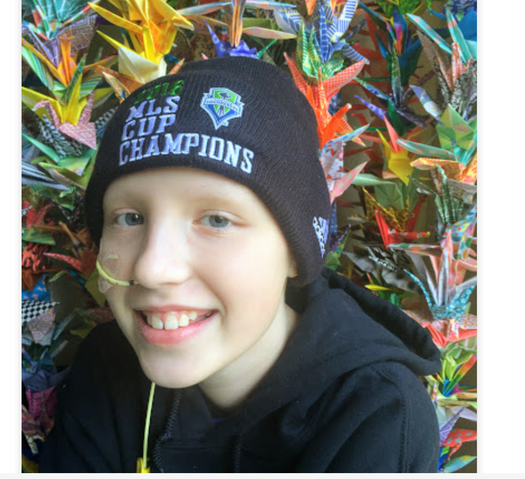 Avery Berg was diagnosed with brain cancer just a few weeks before her 11th birthday.