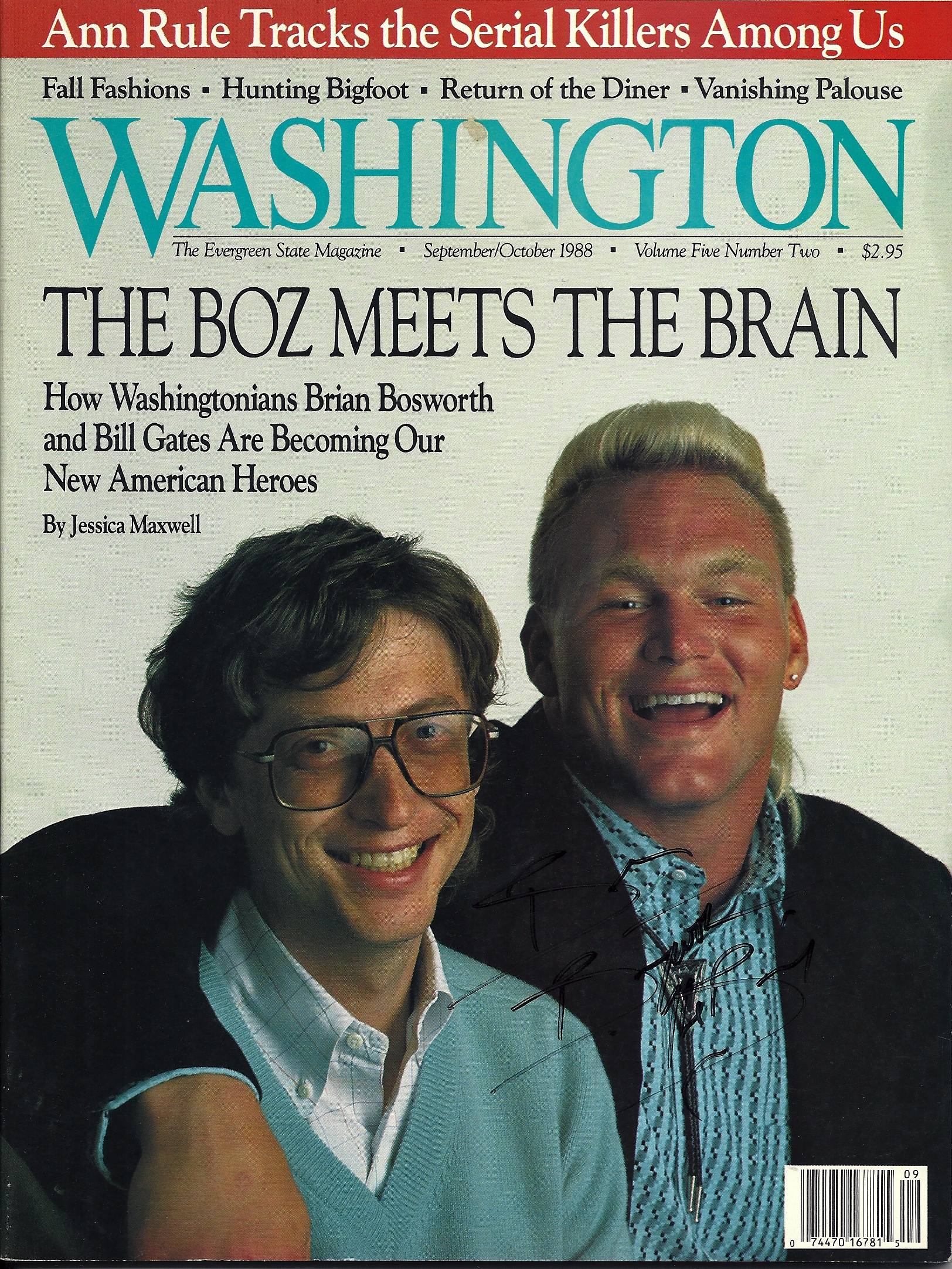 Washington magazine cover