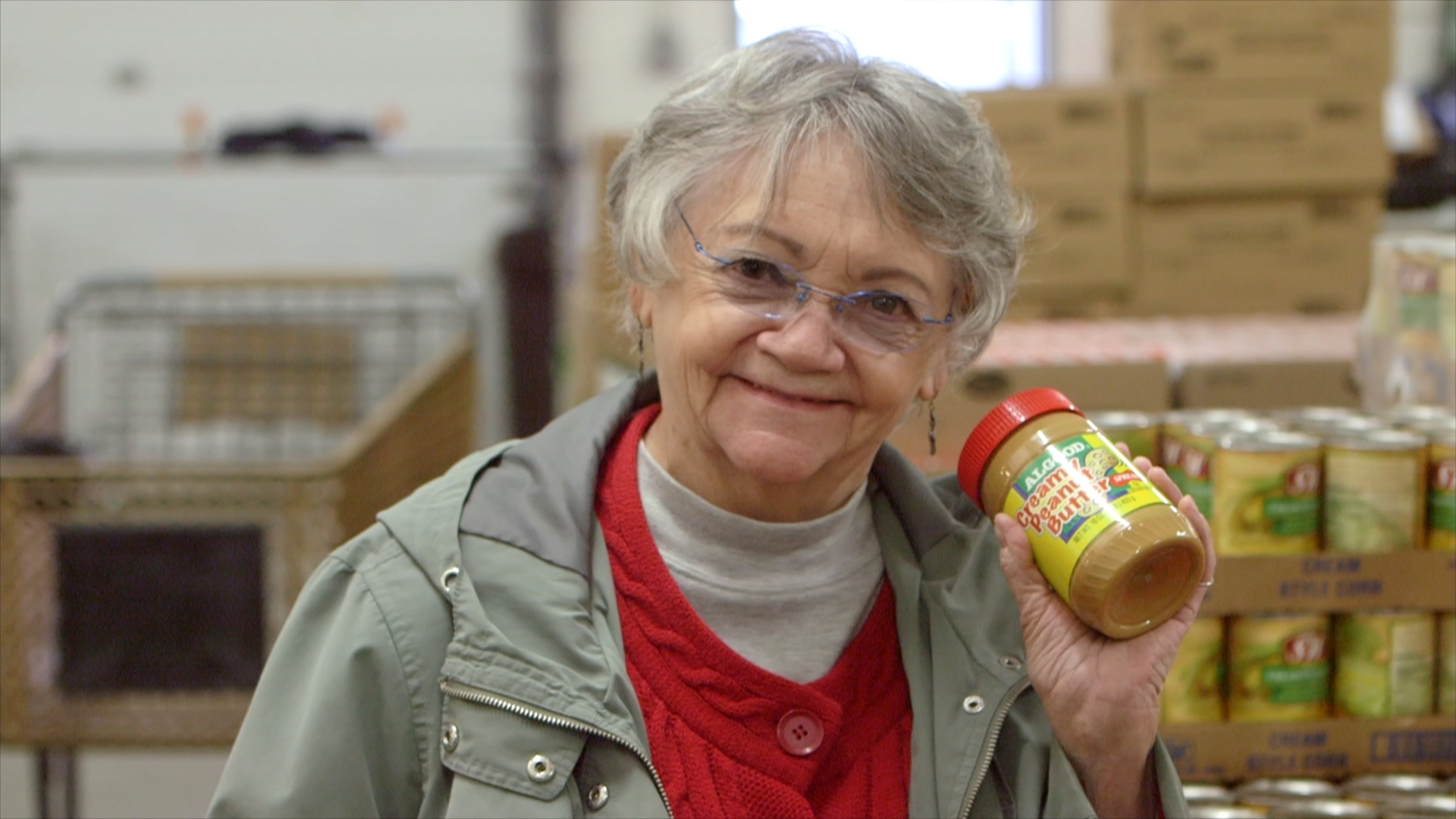 Volunteers at Toppenish Food Bank