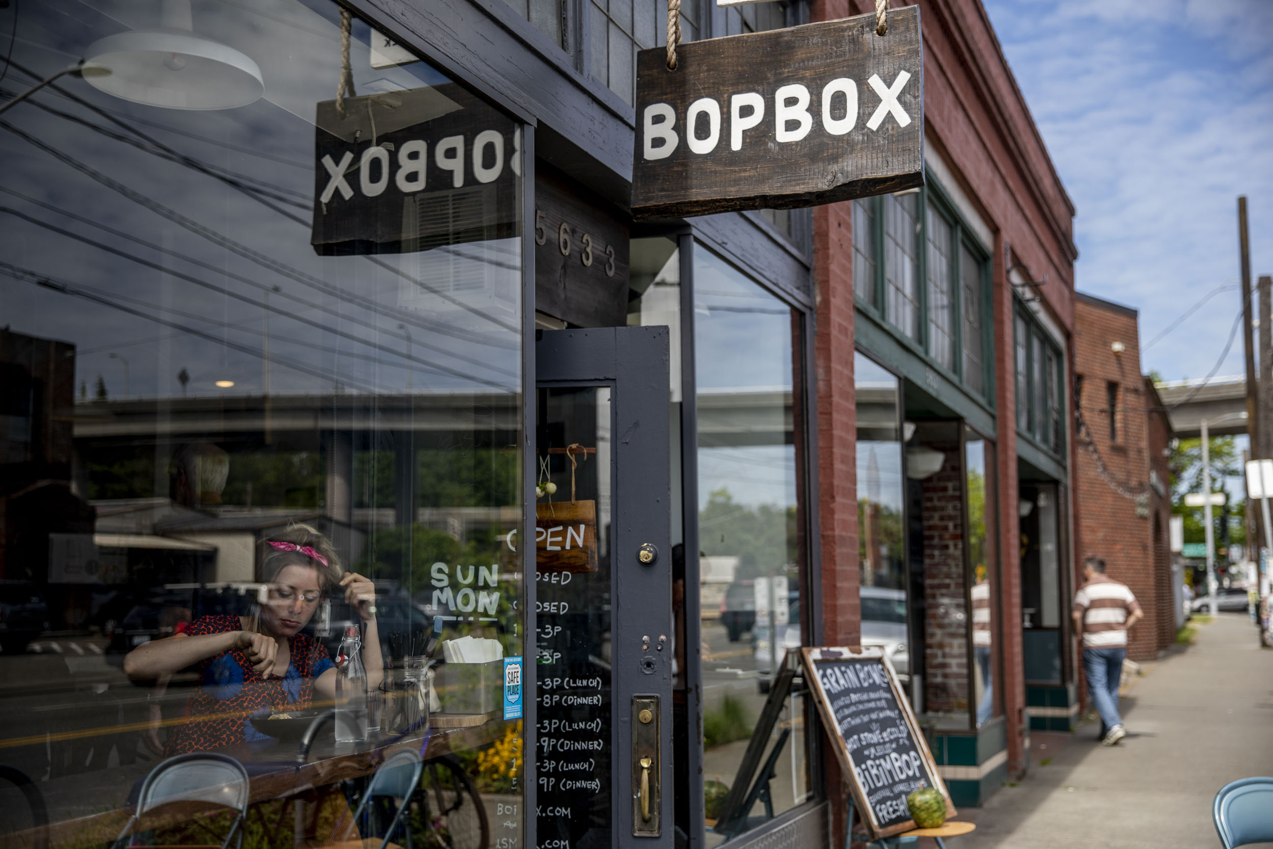 Bopbox in the Georgetown neighborhood of Seattle on May 8, 2019. (Photo by Dorothy Edwards/Crosscut)