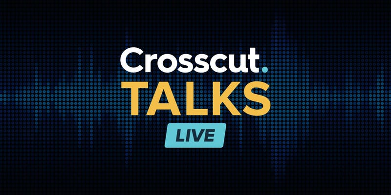 Banner for Crosscut Talks Live
