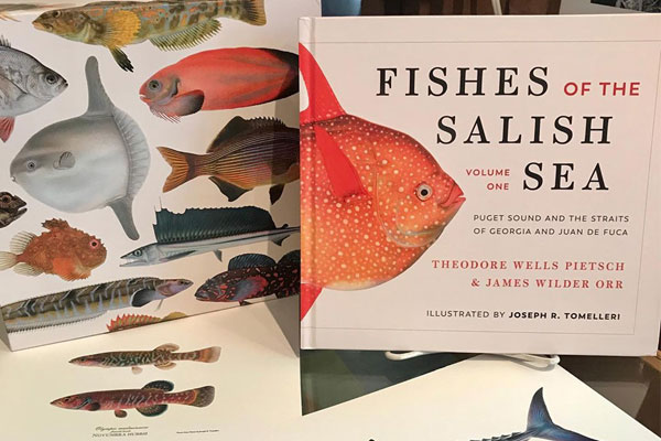 Image of the new book Fishes of the Salish Sea