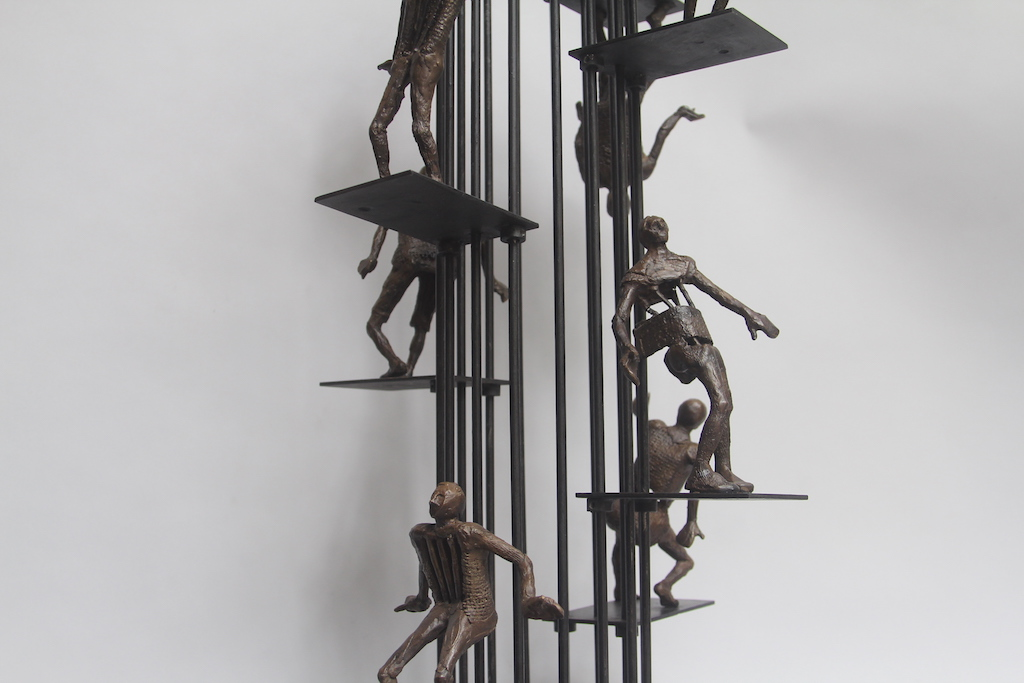 Phillip Levine sculpture