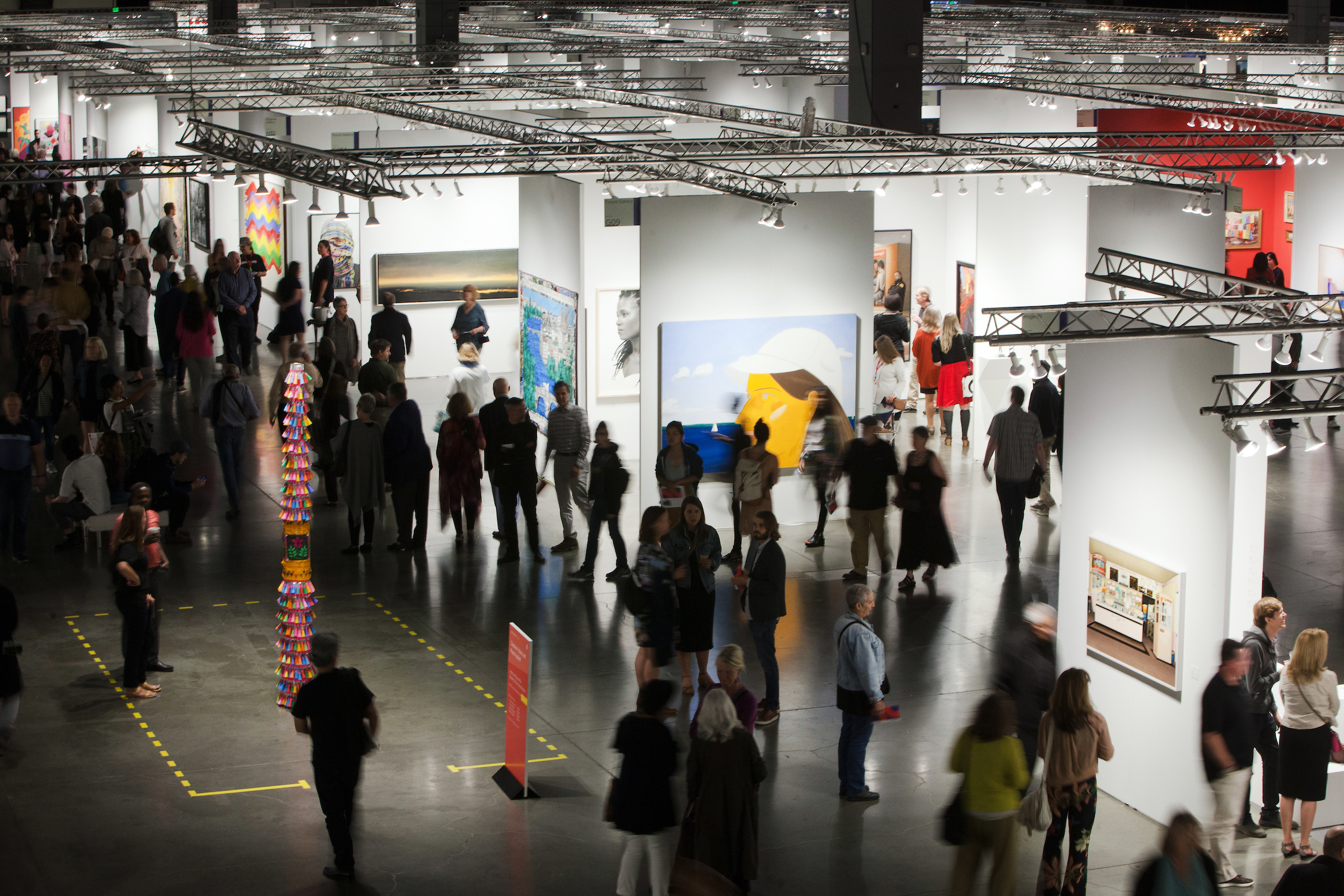 Seattle Art Fair scene