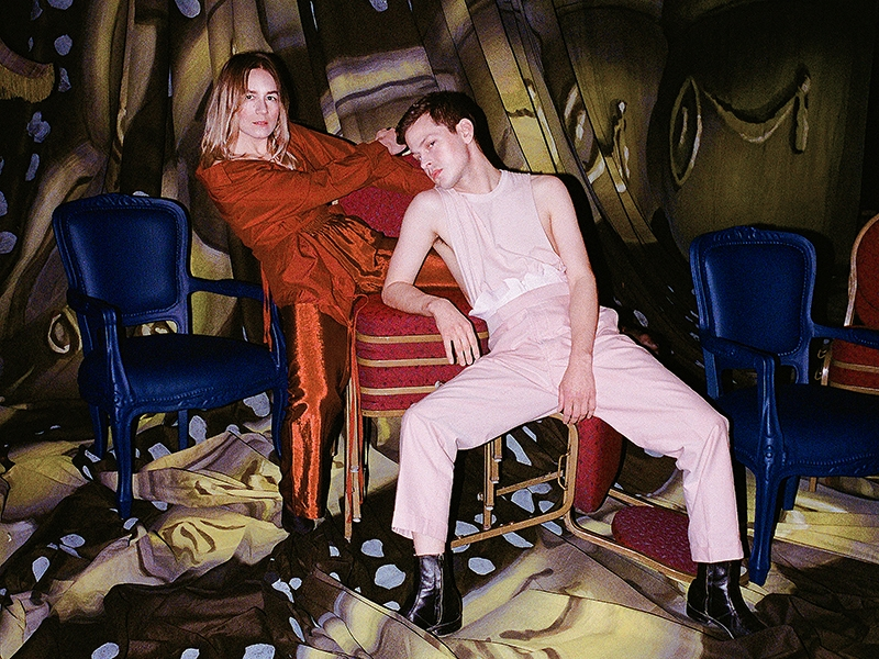 Kate Wallich and Perfume Genius