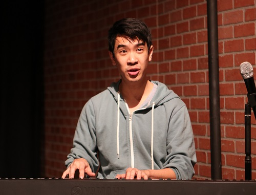 Steven Tran in Intiman's Emerging Artist showcase