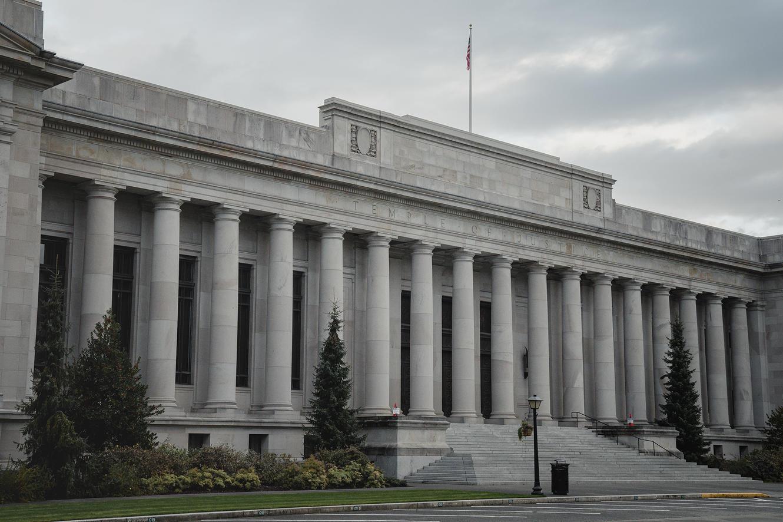 The Washington Supreme Court Building