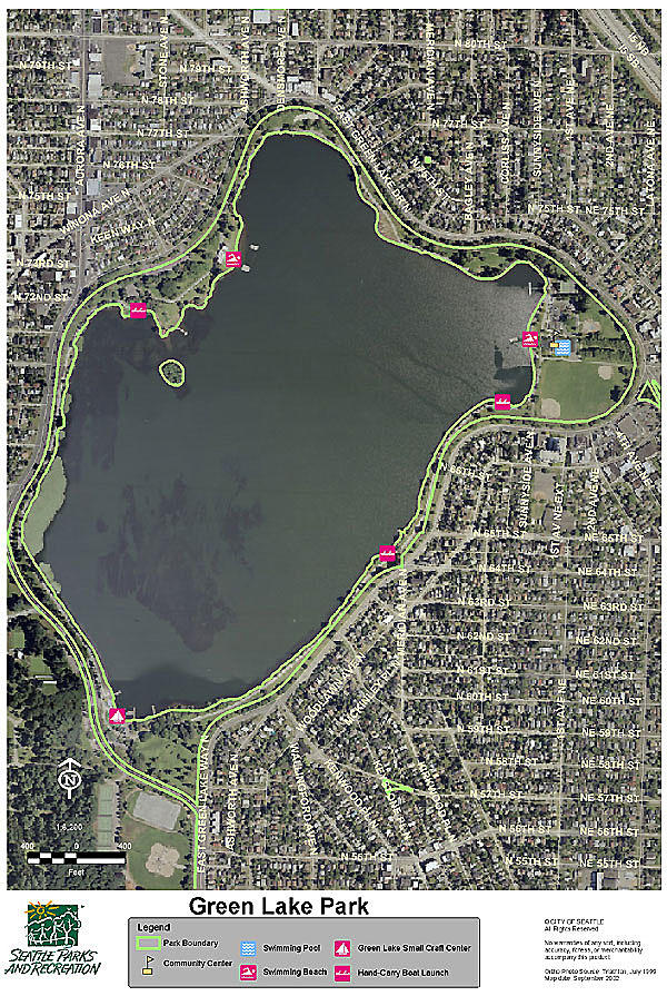 green lake seattle map The Trouble With Green Lake Crosscut green lake seattle map