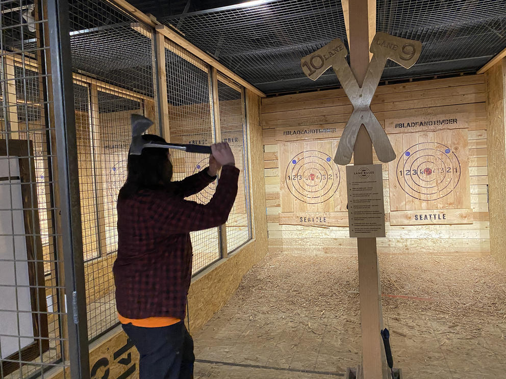 Washington Ax Throwing Venues Want To Be Able To Serve Alcohol Crosscut