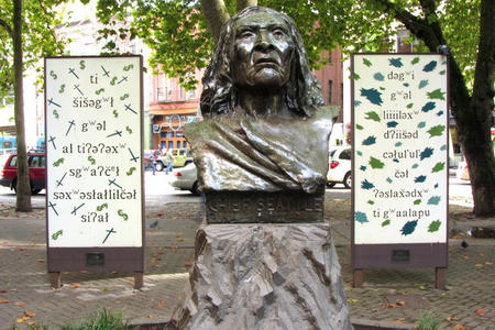 Chief Seattle bust