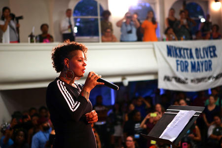 Nikkita Oliver, mayoral candidate, Seattle