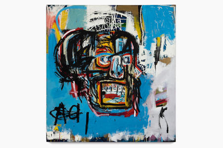 "Jean-Michel Basquiat's work ""Untitled,"" 1982."