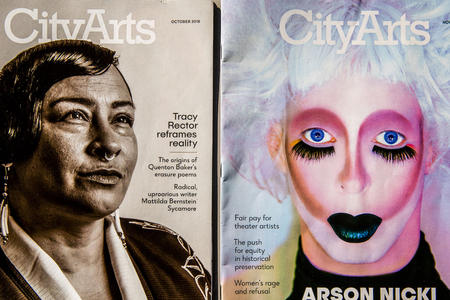 City Arts magazine covers