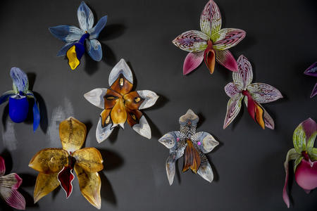 Debora Moore's glass art