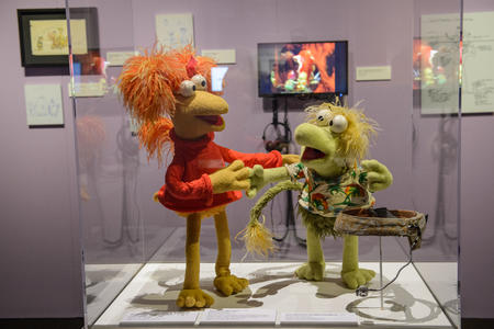 Red Fraggle and Wembley Fraggle